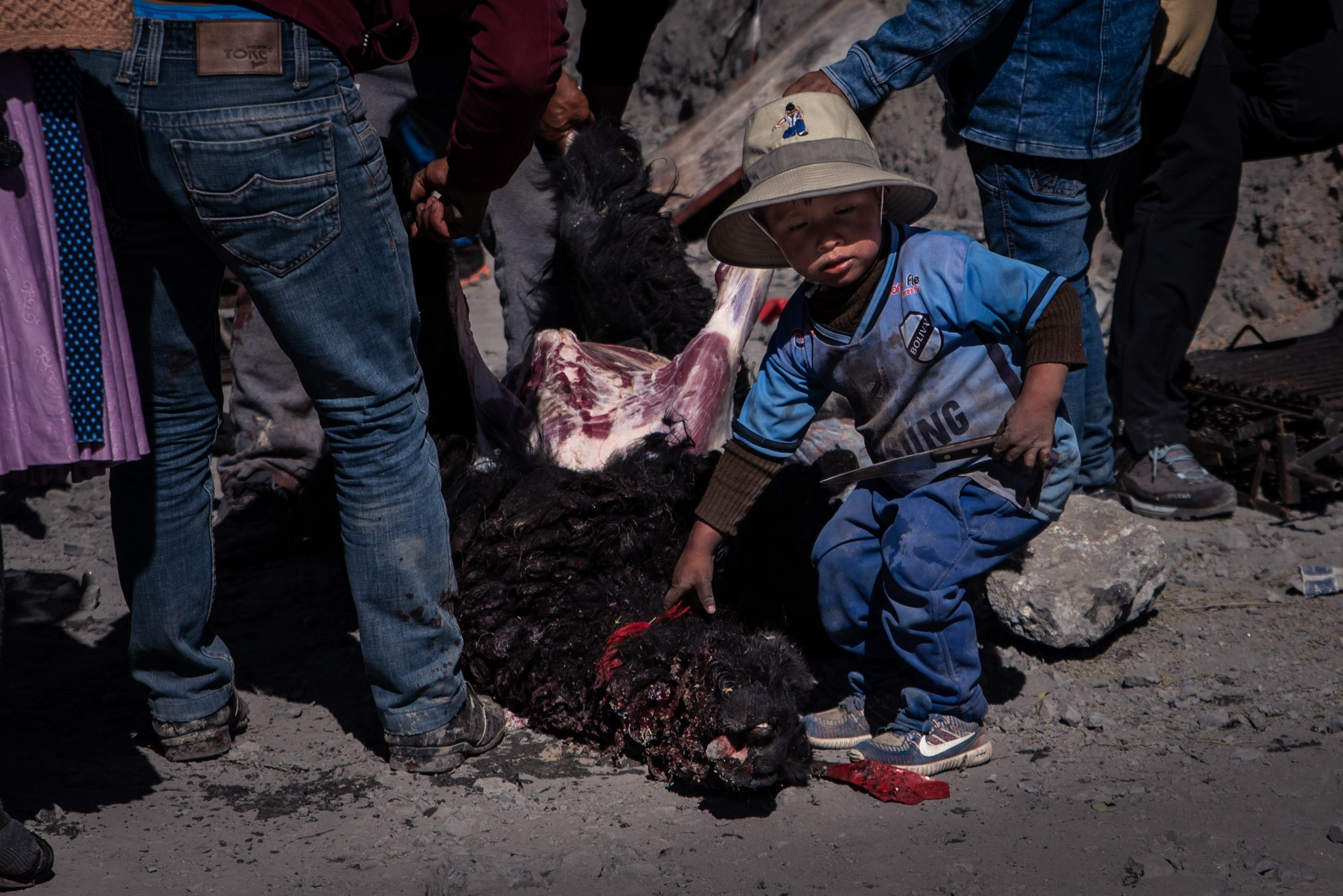 Bolivia miners festival
