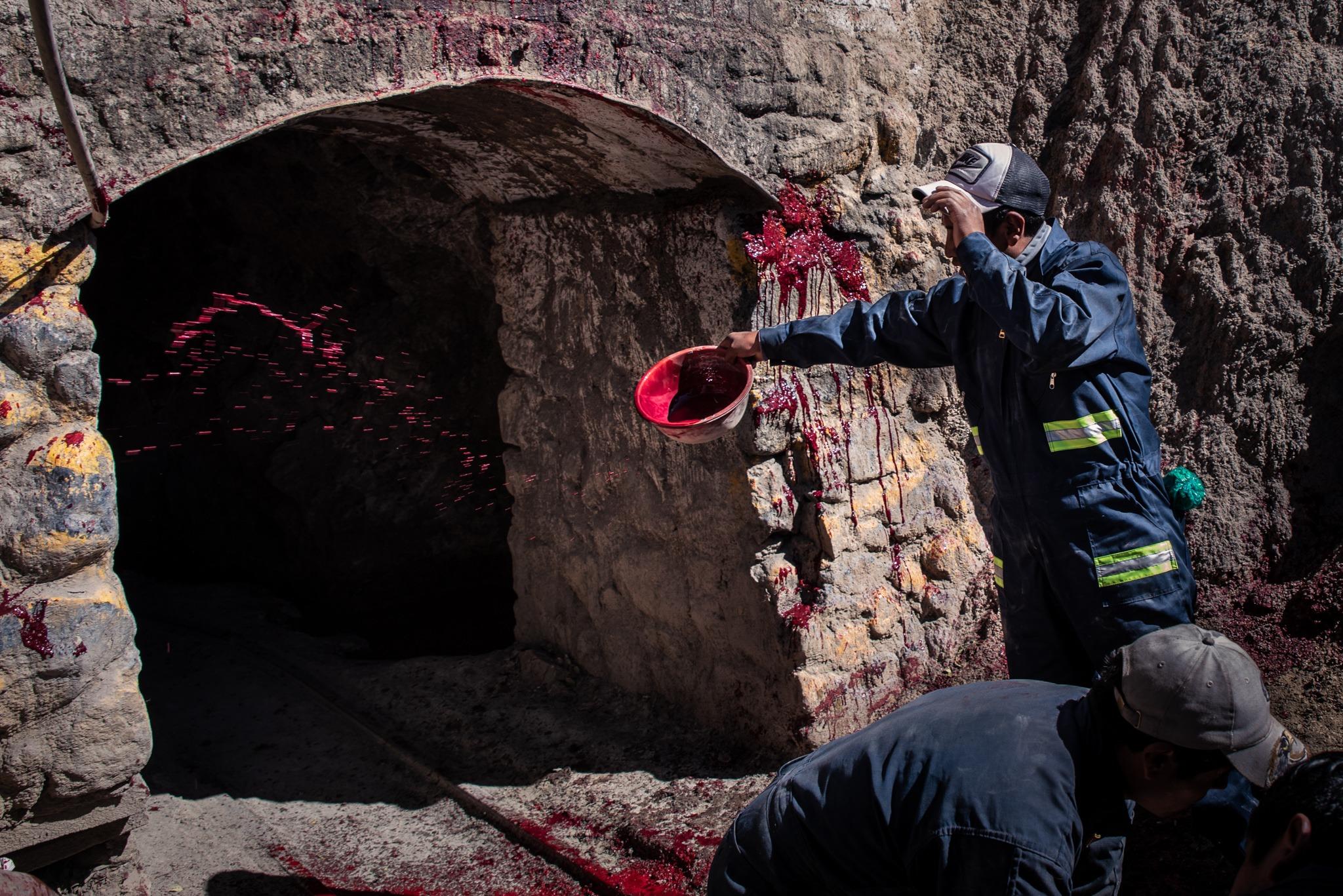 Bolivia silver mine