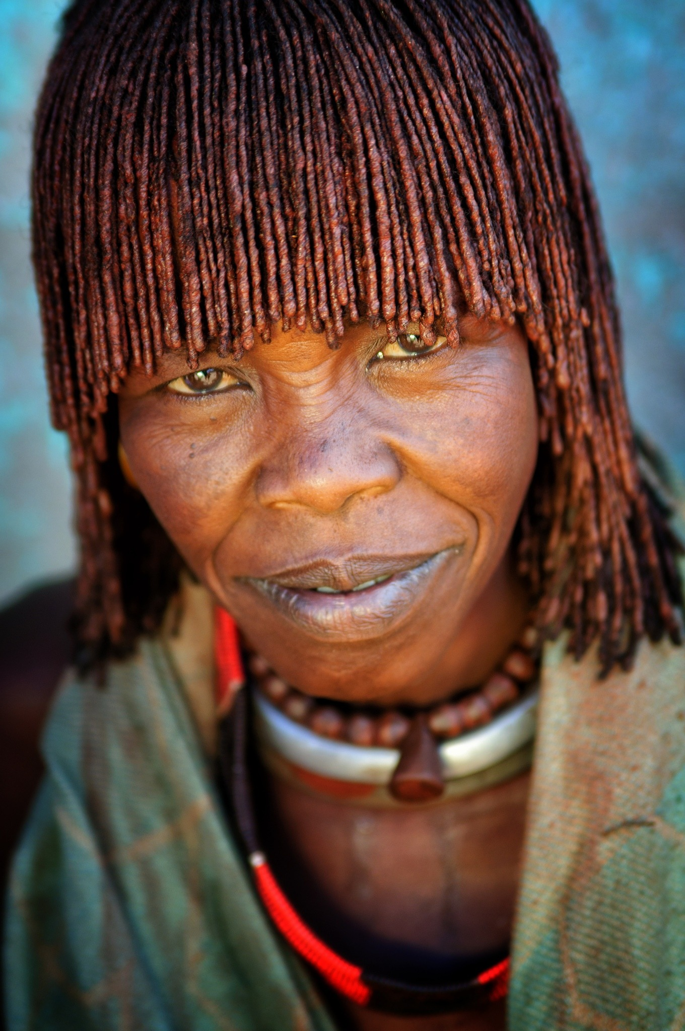 hamer tribe portrait