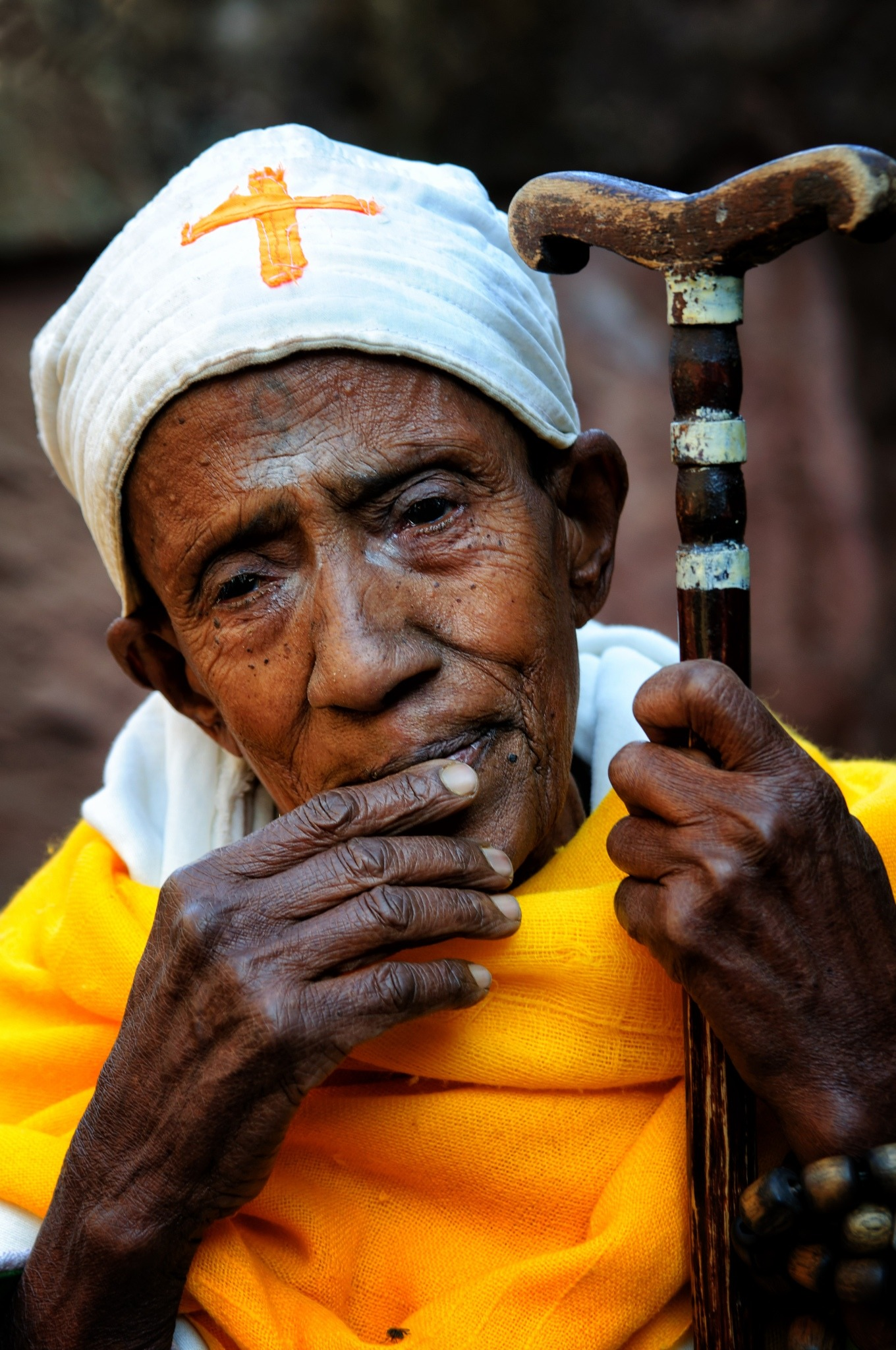 nun lalibela ethiopia