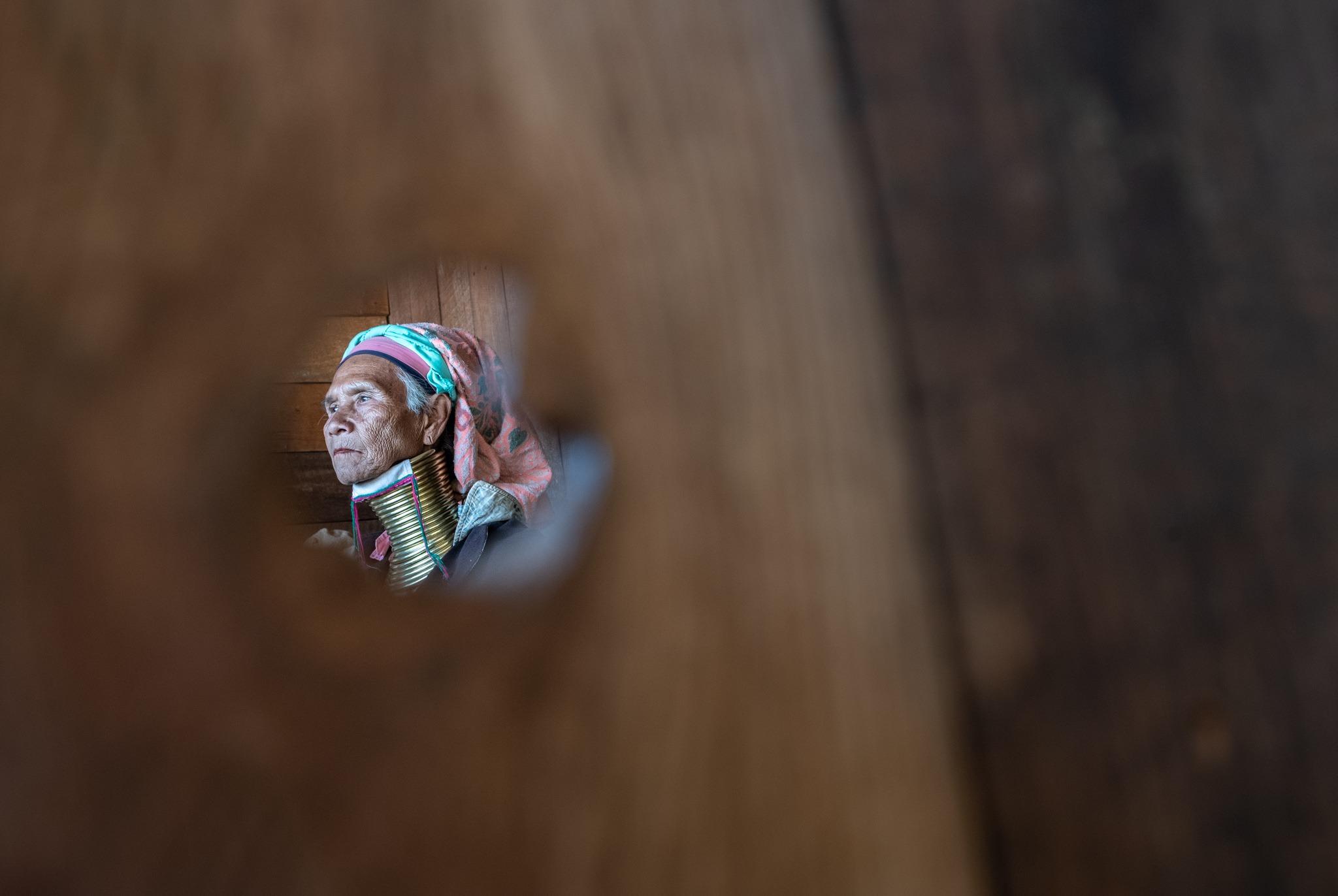Myanmar Kayan tribe