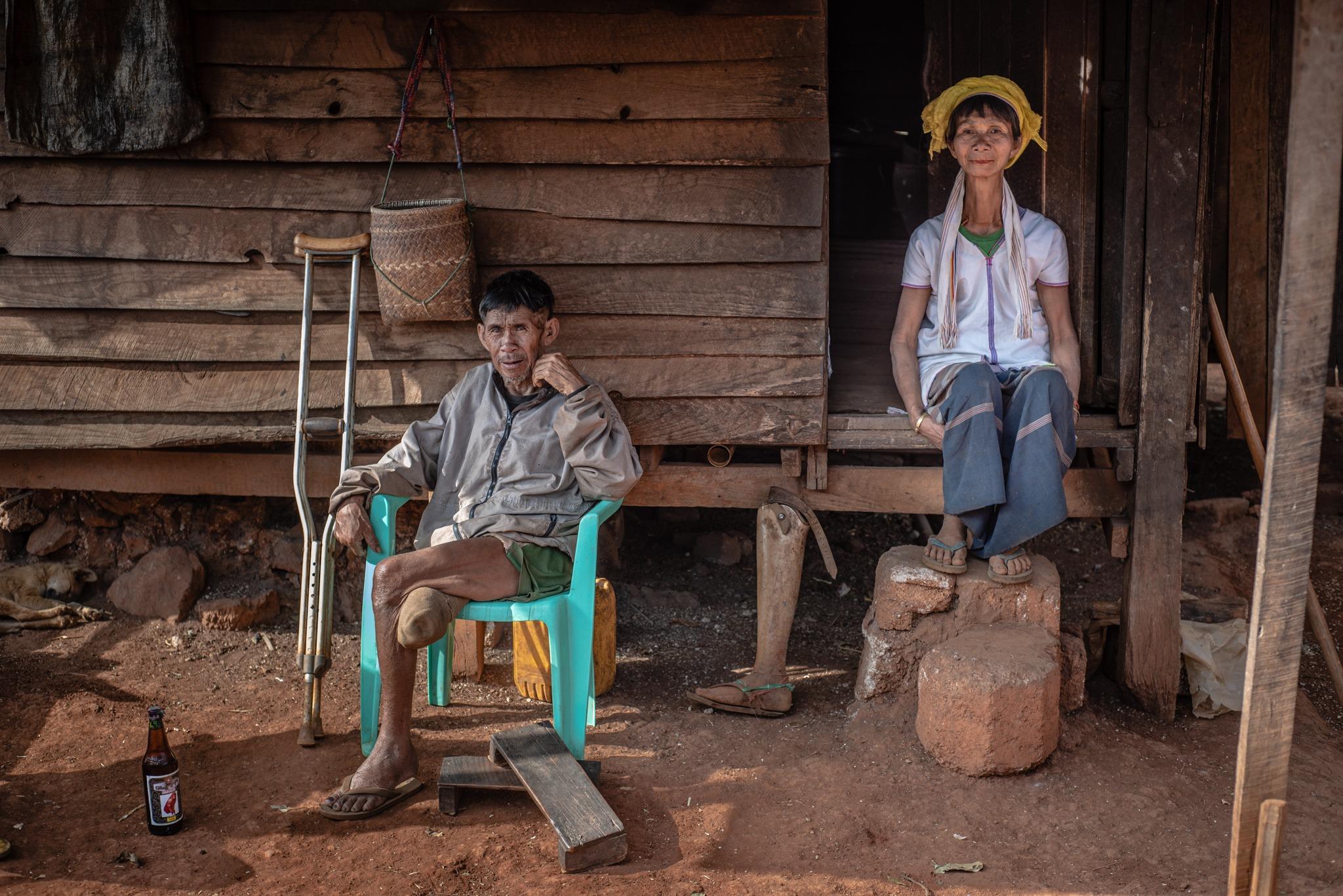 Padaung family, Kayan state