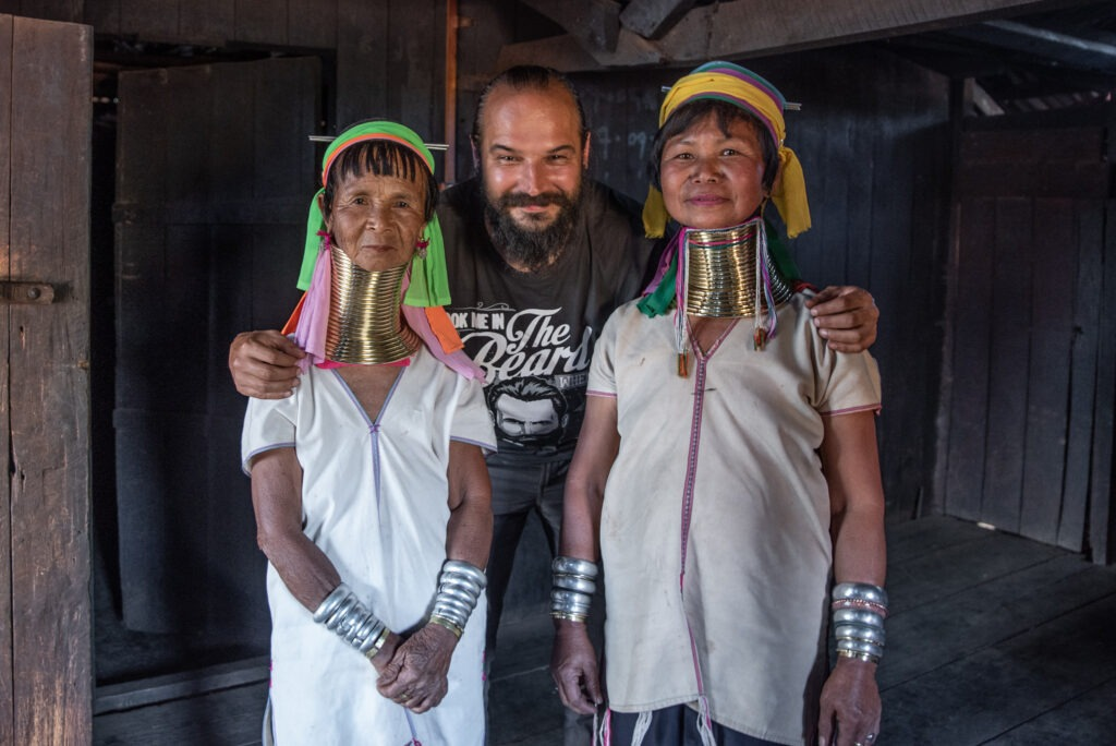 Long necks and big ears - visit in Kayan and Kayah tribes 22